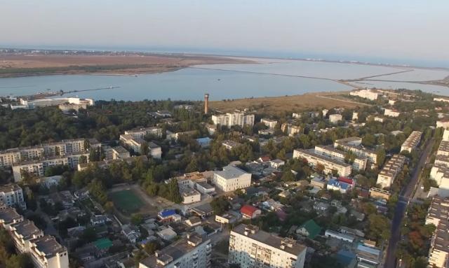 Город Саки - отдых на лечебном курорте в Крыму