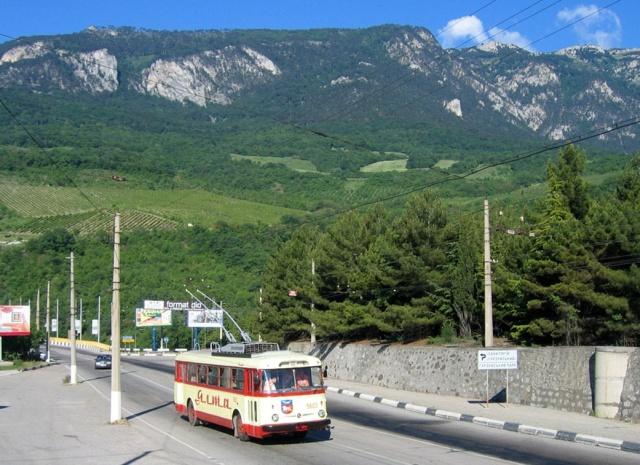 Крымский троллейбус 🚎 Симферополь - Ялта