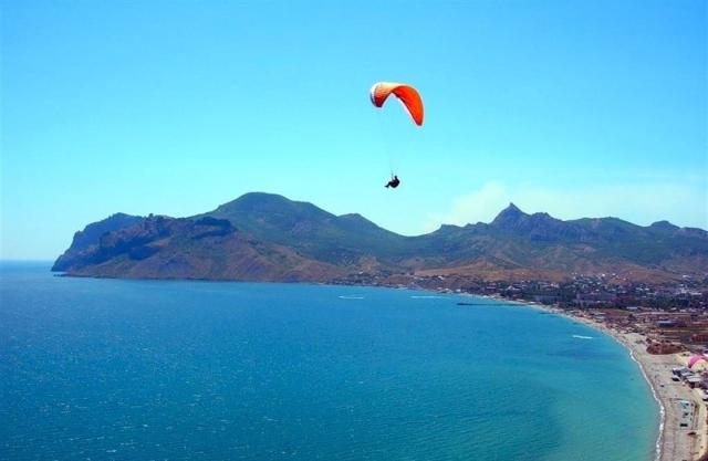 Активный отдых в Крыму - в лесу, на море и в воздухе