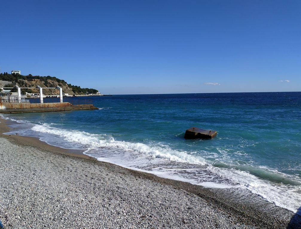 Мисхор, пляж, фото