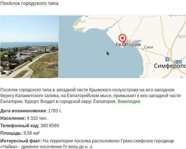 Заозерное, Крым, фото