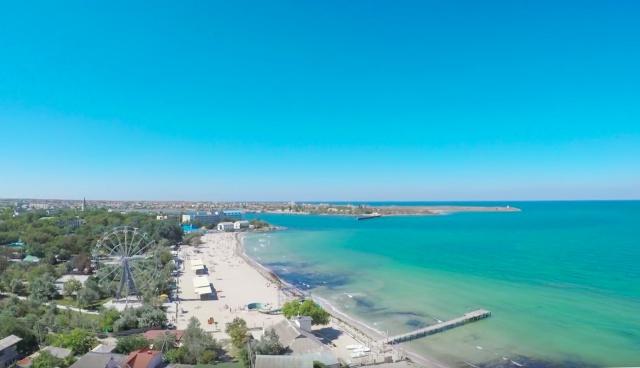 Отдых в Черноморском - Тарханкутский полуостров