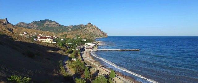 Отдых в Крыму, Курортное (Феодосия): цены 2019 на частный сектор и отели