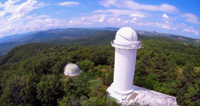 Крым, поселок Научный: местная гостиница и экскурсии в обсерваторию