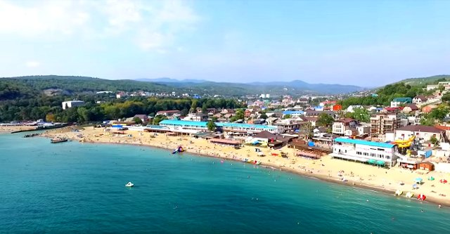 Лучшие пляжи Джубги: температура воды в море и погода