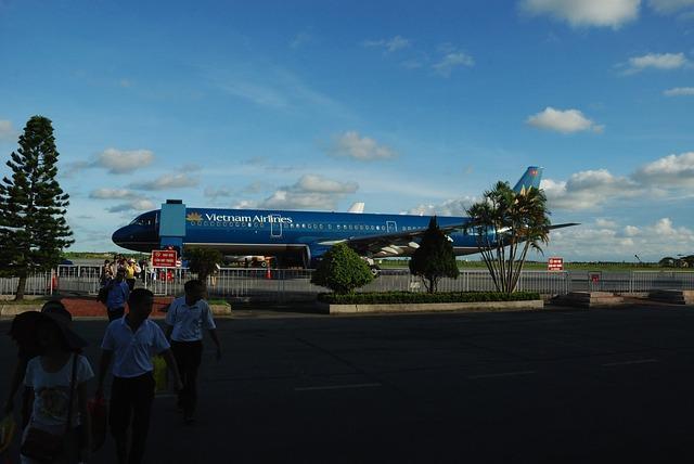 Международные и внутренние аэропорты Вьетнама: код и месторасположение