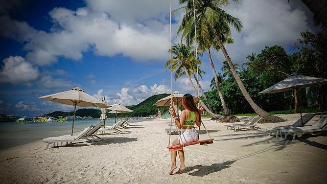 Райский пляж Бай Сао на Фукуоке: картинки из рекламы Баунти