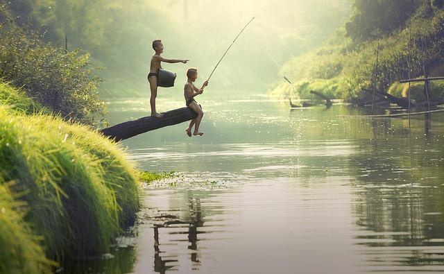 Способ развлечься и отведать свежей рыбы - рыбалка в Муйне