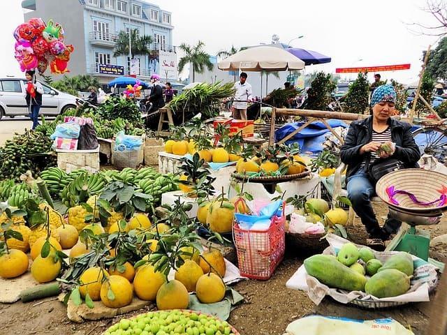 Рынок Чо Дам в Нячанге, фото