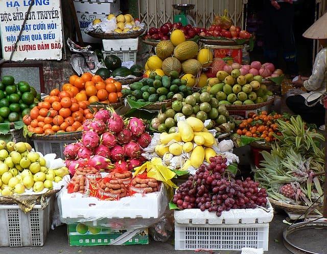 Рынок Сом Мой в Нячанге, фото