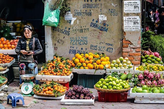 Северный Рынок в Нячанге, фото
