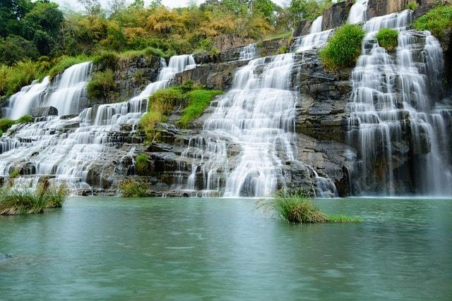 Водопад Понгур в Далате, фото