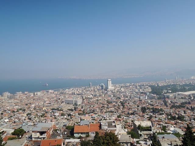 Измир, Канатная дорога, фото