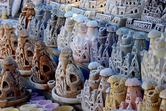 Каппадоки�, �увениры, фото