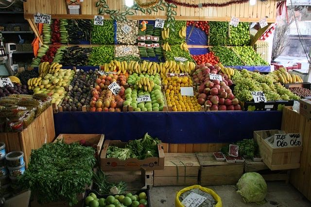 Анкара, рынок, фото