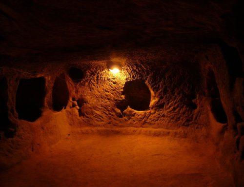Подземный город Деринкую — древнее пещерное поселение в Турции