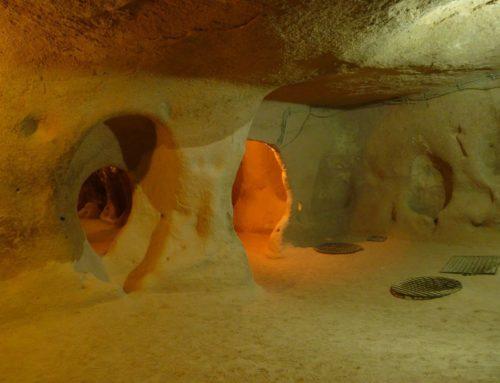 Каймаклы — один из крупнейших подземных городов на территории Турции