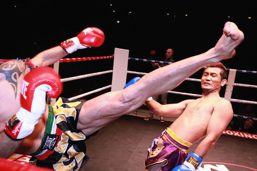 Тайский бокс в Таиланде, фото