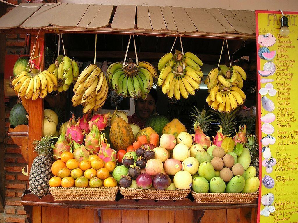Сезоны созревания фруктов в Тайланде по месяцам