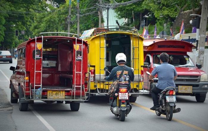 Правила дорожного движения в Таиланде, фото