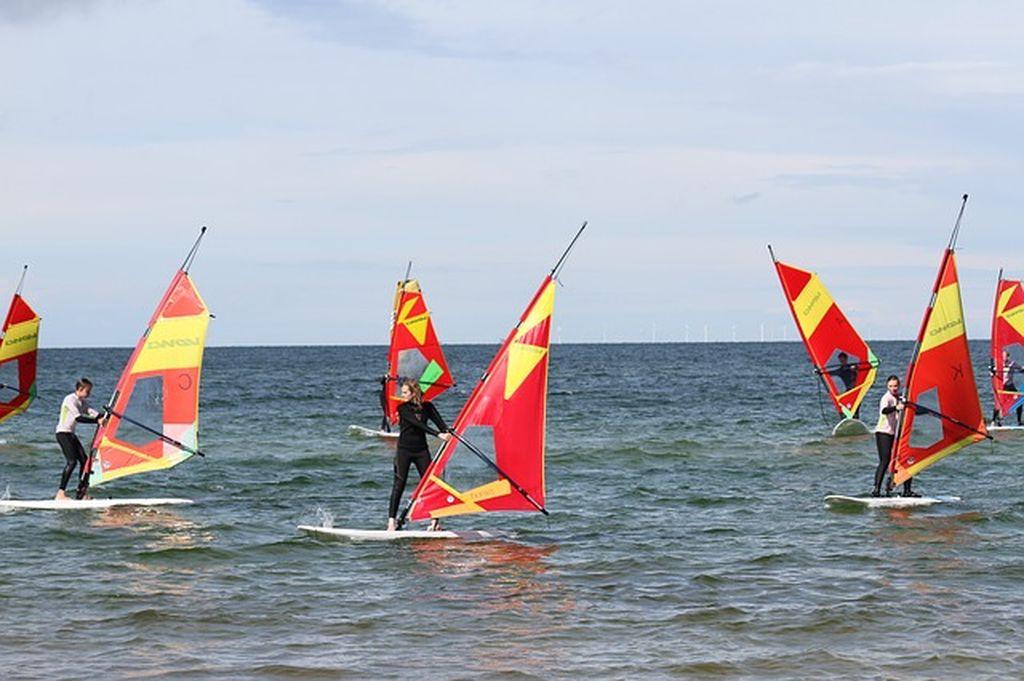 Щелкино, Крым, серфинг, фото