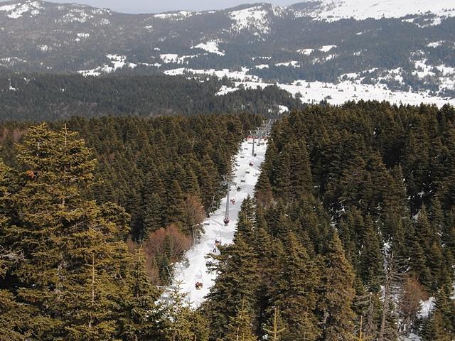 Отдых для любителей зимних развлечений - горнолыжный курорт Улудаг в Турции