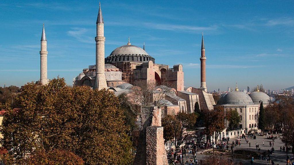 Сердце древнего Константинополя - Собор Святой Софии