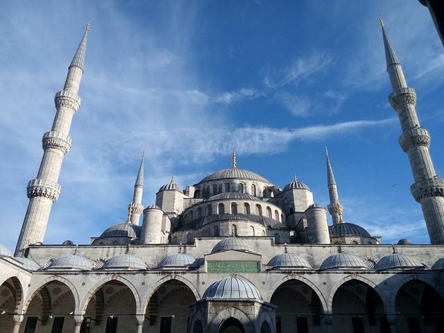 Историческое сердце Стамбула - район Султанахмет
