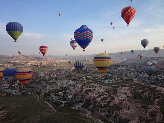 Воздушные шары Каппадокии 🎈 сколько стоит полетать?