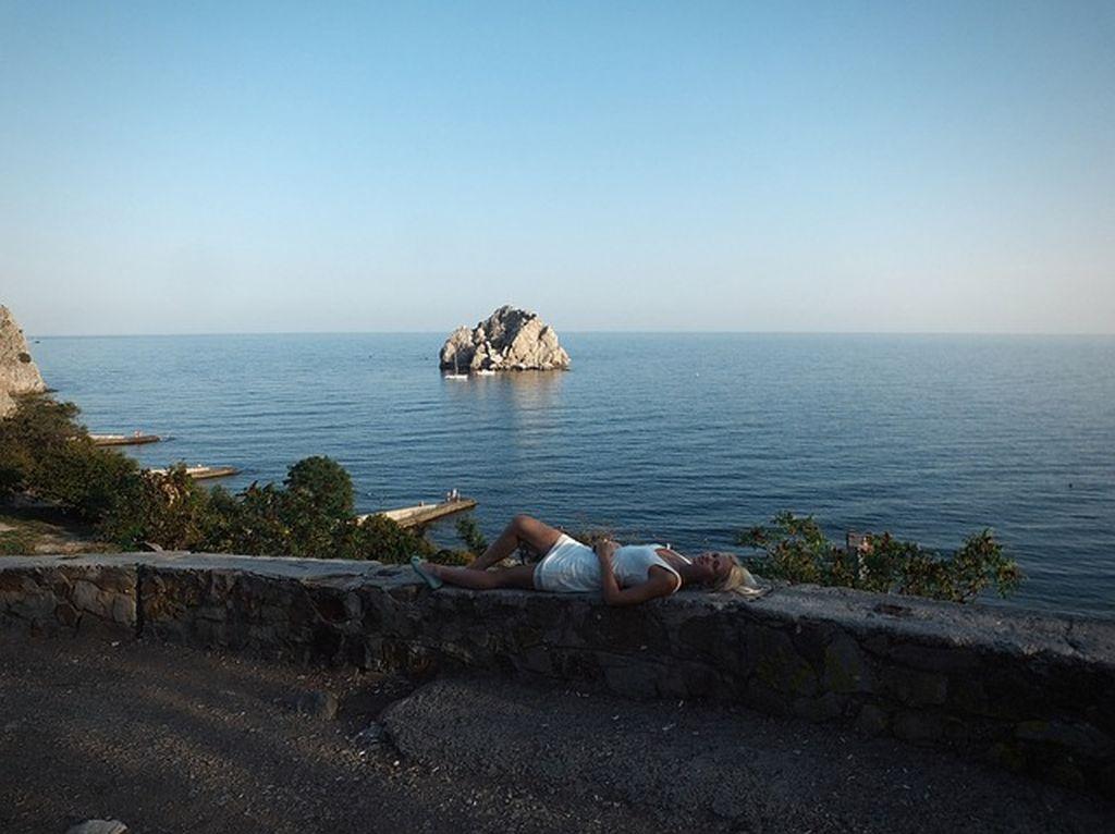 Пляжи Евпатории, фото