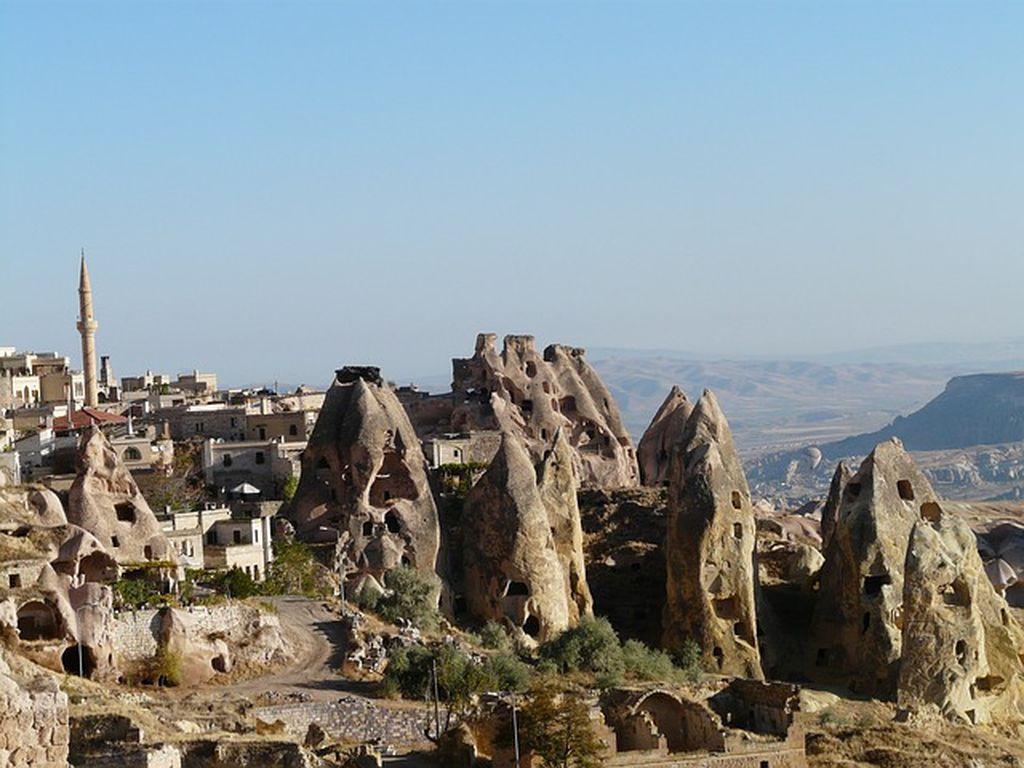 Экскурсия в Учхисар, Турция, фото