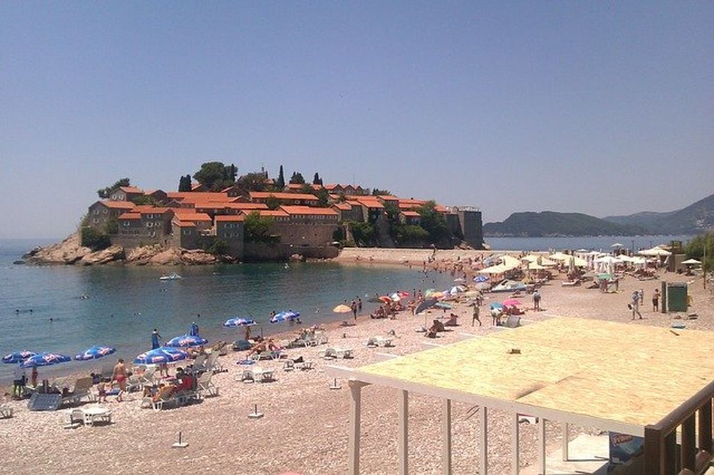 Пляжи Черногории, фото