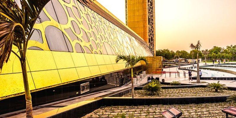 Золотая рамка в Дубае 2, фото