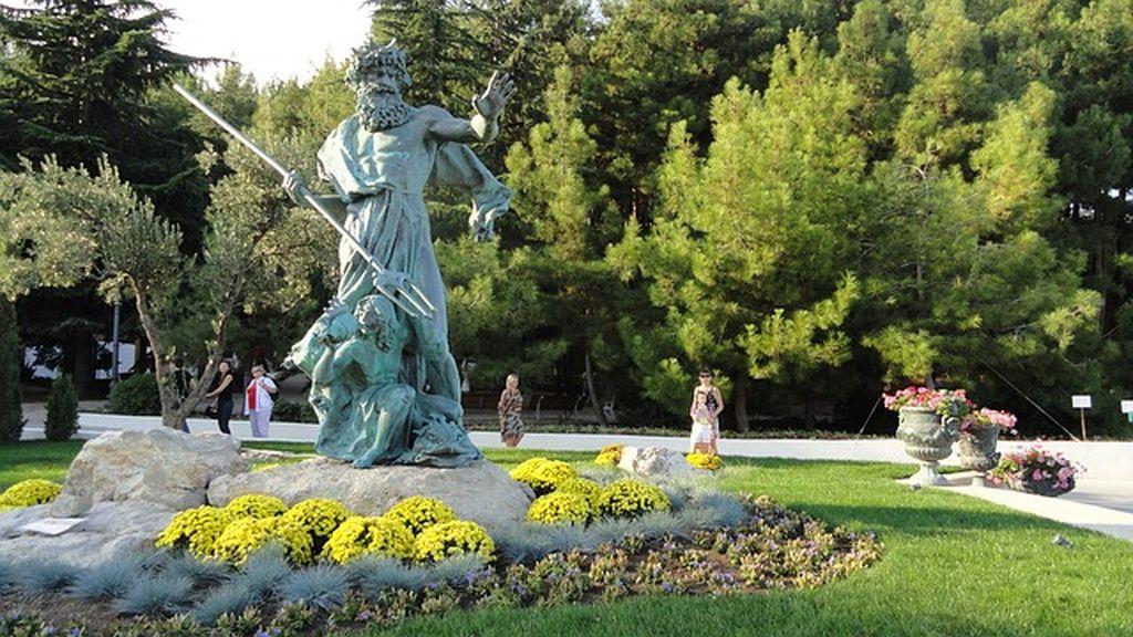 Парк Айвазовского в Партените 1, Крым, фото