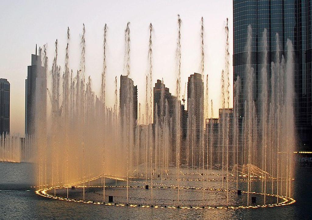 Фонтаны Дубая, фото