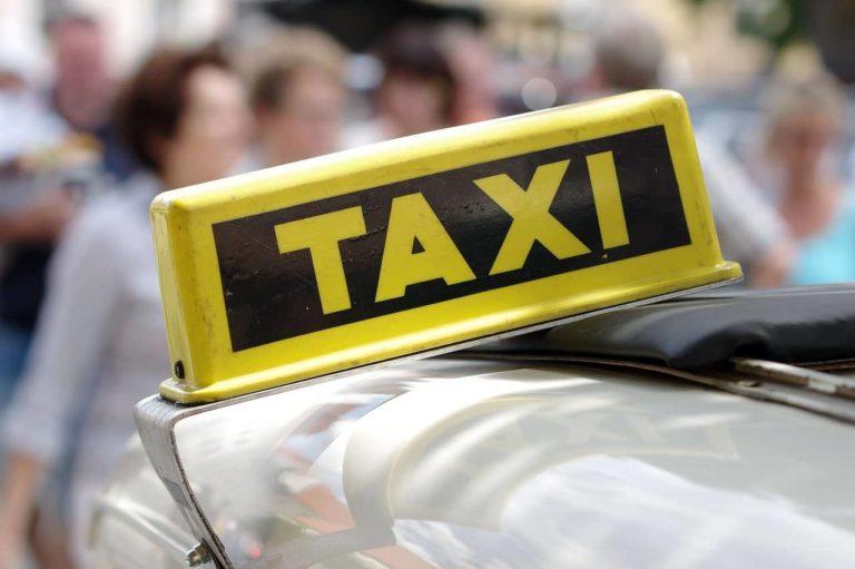 Такси, фото